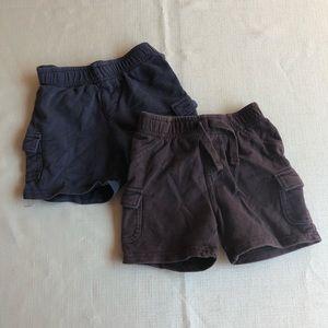 2 Jumping Beans Shorts Boys 18M